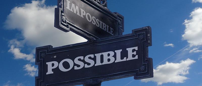 可能・不可能のイメージ